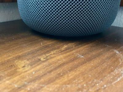Has the HomePod left a 'white ring' on any of your furniture?