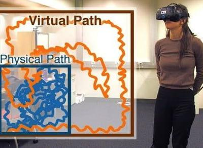 Clever new method solves VR's 'infinite walking' problem by tricking your brain