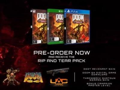 Here are your pre-order and deluxe edition goodies for Doom Eternal