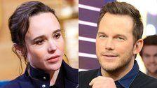 Ellen Page Calls Out Chris Pratt for Supporting 'Infamously Anti-LGBTQ Church'
