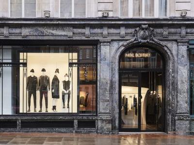 Neil Barrett Opens His First UK Store in Mayfair