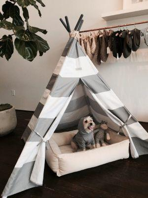 This Pet Teepee Gives Your Dog Their Own Stylish Space