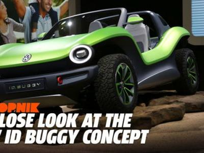 The Electric Volkswagen ID Dune Buggy Concept Is So Cool It's Begging to Get Made