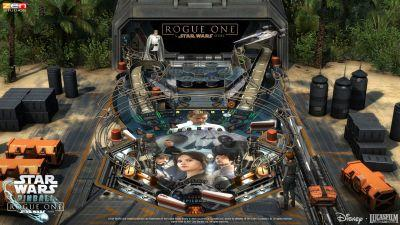 Zen Studios Reveals 'Rogue One' Pinball Table on Day 'Star Wars: The Last Jedi' Revealed