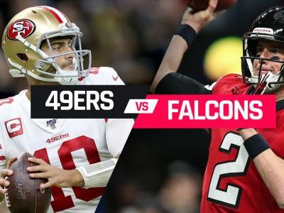 What channel is 49ers vs. Falcons on today? Schedule, time for NFL Week 15 game