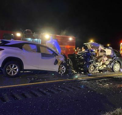 3 children, 3 adults dead following crash on I-95 in Georgia