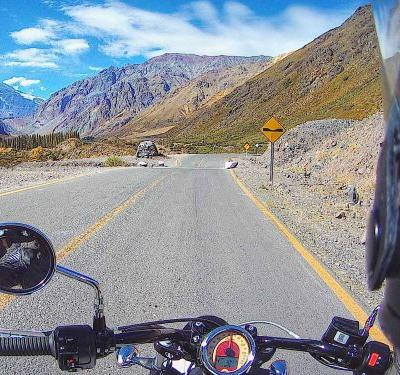 Touring The Andes Mountains On An Indian Scout