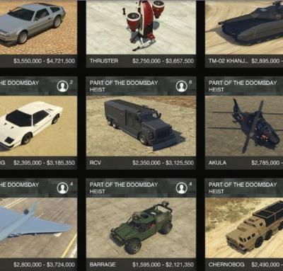 GTA Online: The Doomsday Heist - all new tank, cars, prices, jetpack, Orbital Strike, radio station and more