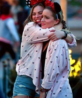 Aww! 'Bachelorette' Babe Hannah Brown Spends Valentine's Day With a Friend at Disneyland