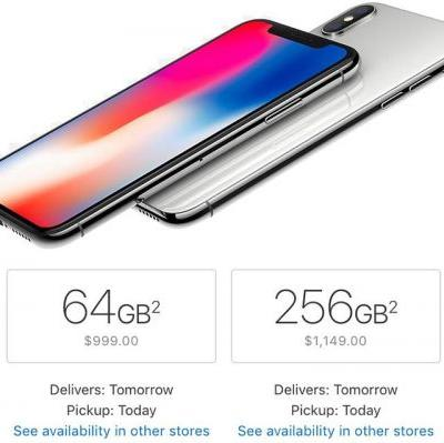 Apple Now Offering Next-Day iPhone X Delivery in United States and UK