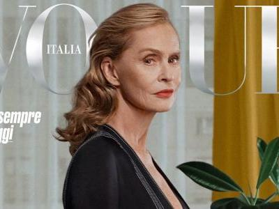 Lauren Hutton Covers 'Vogue' Italia's October Issue For Women Over 60