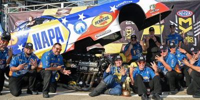 Dream On! Capps Notches Sixth Win to Keep the Dodge Streak Alive