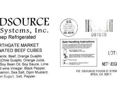 Nearly 13,000 Pounds of Beef, Chicken Recalled