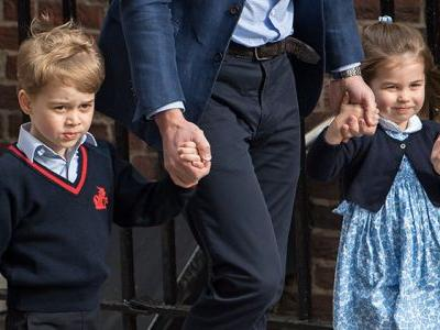 Prince George and Princess Charlotte Stole the Show at the Royal Wedding - See the Pics!