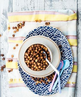 Air Fryer Crispy Chickpeas