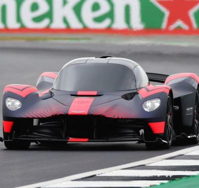 Aston Martin Valkyrie Makes Dynamic Debut at Silverstone