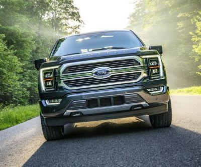Ford's new F-150 revealed with hands-free driving and hybrid options