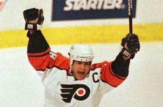 Number retirements for Rangers' Ratelle, Flyers' Lindros