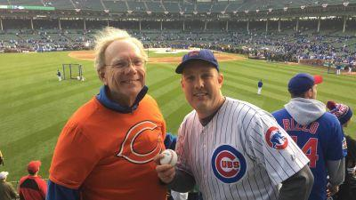 World Series 2016: Kyle Schwarber BP home run ball makes father-son trip to Wrigley even more special