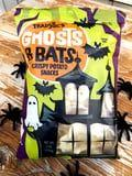 Balance Out All That Halloween Candy With Some Salty, Crunchy Trader Joe's Ghosts & Bats
