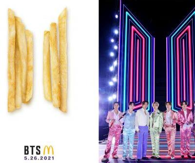 McDonald's launching BTS meal in new celebrity menu collaboration