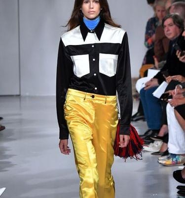 Kaia Gerber Just Walked Her First-Ever Runway at NYFW