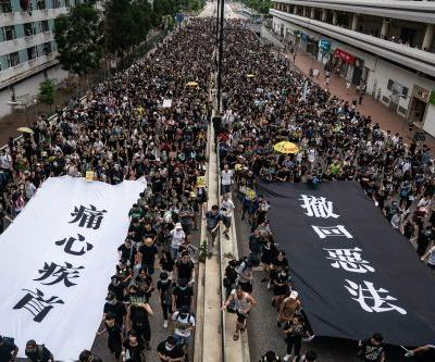 Hong Kong police seize explosives ahead of weekend protests