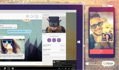 Viber for Windows 10 updated with user experience improvements