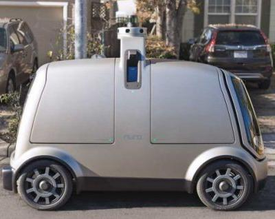 Nuro self-driving vehicle aims to transform local commerce