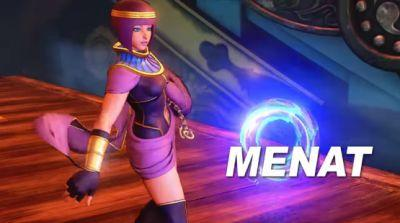 Street Fighter V Adds Fortune Teller Turned Fighter Menat Next Week