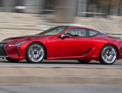 2018 Lexus LC, Tested in Depth: A Big-Boned Stunner