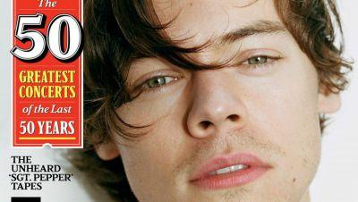 Harry Styles Leans All the Way into Gucci on His Inevitable First 'Rolling Stone' Cover