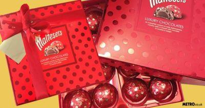 Put down the flowers and pick up one of these luxury Maltesers boxes for Mother's Day