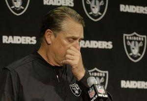 Carr loses ball dealing blow to Raiders playoff chances