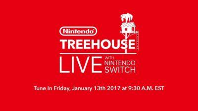 Watch the Nintendo Switch Treehouse Live Event Right Here