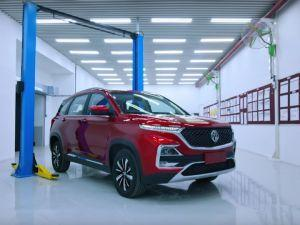 MG Motor Hector Production Begins Set To Launch In June