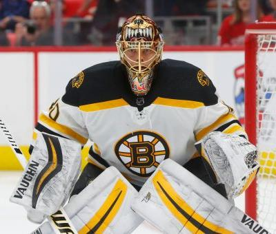 Bruins' goaltender Rask back at practice after 3-day leave