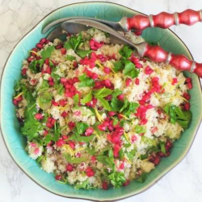 Tabbouleh with Pomegranate