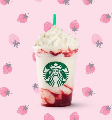 Starbucks' Serious Strawberry Frappuccino Is On The Permanent Menu, So Get Used To It
