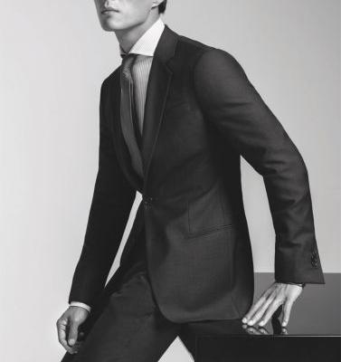 Zhao Lei, Pepe Barroso & Maxime Daunay Suit Up for Giorgio Armani Made to Measure Spring '19 Campaign