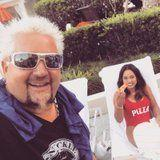Ayesha Curry Finally Explains the Pizza Swimsuit Selfie With Guy Fieri