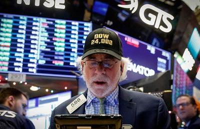 Historic high: Dow closes over 24,000, surges more than 300pts