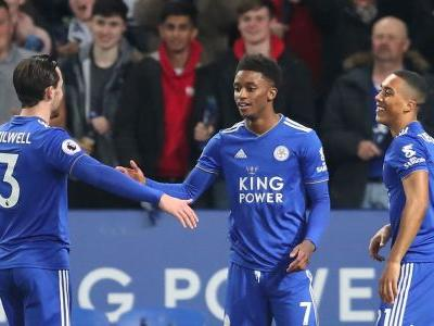 Leicester beat Brighton with Gray, Vardy goals as Rodgers watches on