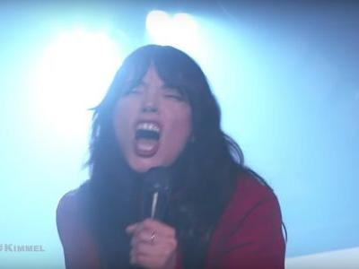 Watch Sharon Van Etten Absolutely Kick Ass On Kimmel