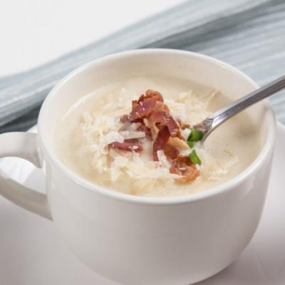 Instant Pot Cauliflower Potato Soup