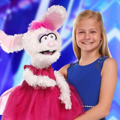 Darci Lynne And Her Puppets Sing 'With A Little Help From My Friend' On America's Got Talent