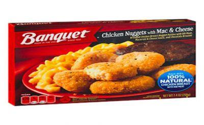 55 tons of frozen meals recalled for brownie Salmonella risk