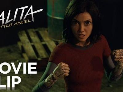 Alita Gets Into an Alley Fight in New Battle Angel Clip