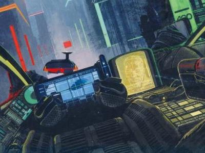 From BLADE RUNNER To Here: Exclusive Images From THE MOVIE ART OF SYD MEAD, VISUAL FUTURIST