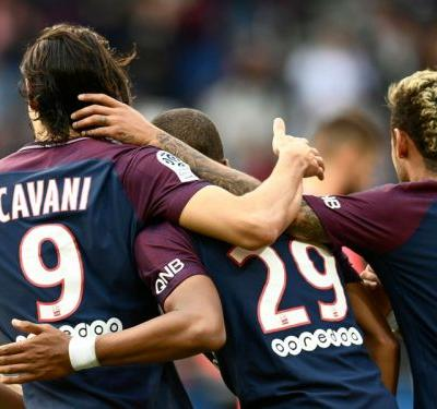 Weah's son earns first PSG chance with Mbappe, Neymar & Cavani missing